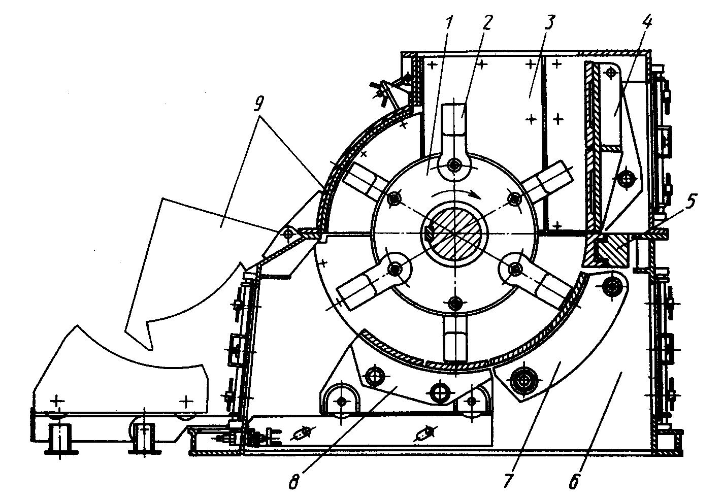 Молотки молотковых дробилок в Реж завод горного оборудования в Выкса